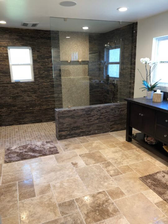 Master Bathroom Remodel | Skyline Construction and Remodeling